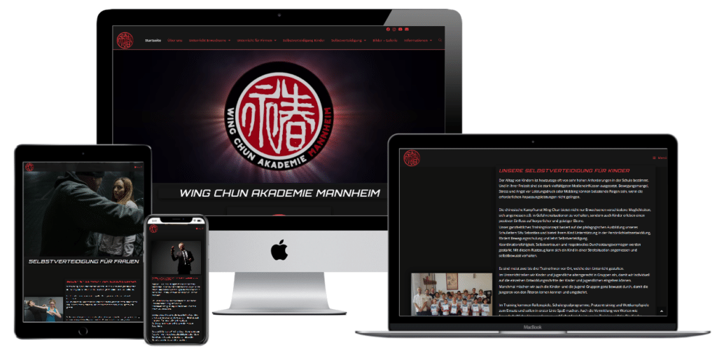 wingchun-mannheim.de Black Design